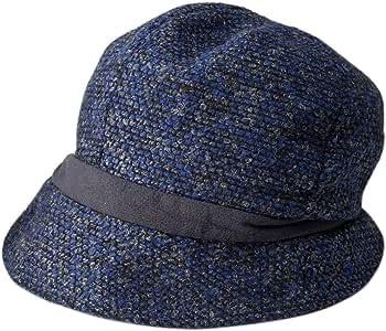 保暖 显小脸 针织帽 藏青色 頭囲:57.5cm(つば部:7cm) -