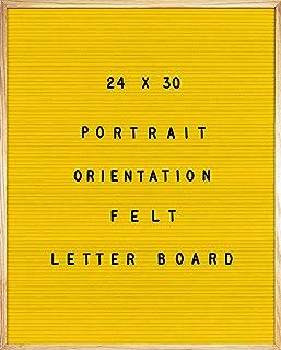 黄色毛毡信板 24 X 30 肖像方向,692 件一组 1 英寸和 3/4 英寸字母、符号和表情,36 个槽套装收纳器,刀具,2 个字母袋