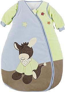 Sterntaler 幼儿睡袋,可拆卸袖子,热调节,带拉链 蓝色 110 cm