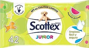 Scottex 青少年湿厕纸备用P42 - [6 件装]