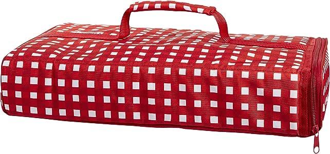 Fit & Fresh 绝缘砂锅背带适用于派对和娱乐 红条纹 9 x 13 英寸