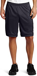 Champion 男式网眼带兜长款短裤