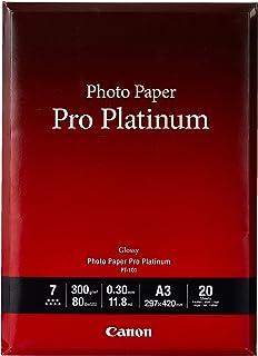 Canon 佳能 优质专业照片纸 PT-101 A3(20)