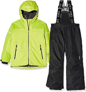 CMP 男童滑雪套装夹克和裤子 39 W1864 套装,男孩款,39W1864