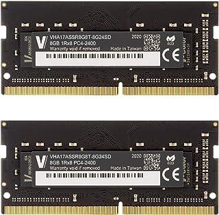 V-Color 8GB (1 x 8GB) 笔记本电脑内存模块* 适用于 iMac、MacBook Pro DDR3/DDR3L 非 ECC 1866MHz (PC3L-14900) 2Rx8 CL13 1.35V SO-DIMM (TN38G...