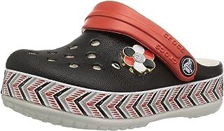 Crocs 儿童 Drew Barrymore Crocband Chevron 洞洞鞋