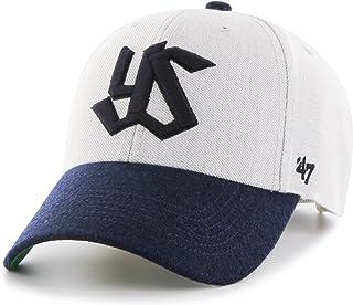 '47(Fortysiven) 益力多燕子 棒球帽 Swallows MUNSON '47 MVP NPB-MUNSN10WHS-GY 灰色 均码