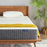 Sweetnight 中号双人床床垫-中号双人床床垫,25.4 厘米凝胶*泡沫床垫,带 CertiPUR-US 认证,可缓解背部*/运动隔离和凉爽*,可翻转舒适,从柔软到中等结实