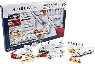 Daron 三角洲机场玩具,30件