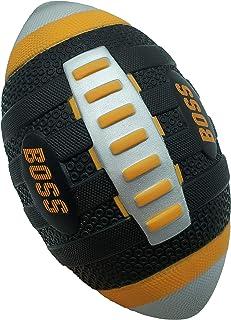 LMC Products 泡沫足球运动玩具 - 黑色 + 橙色 Boss 易握软质足球