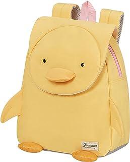 Samsonite 新秀丽 Happy Sammies 环保儿童帆布背包 S 27.5 厘米 7.5 L 黄色(鸭子图案)