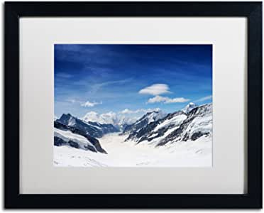 Trademark Fine Art Distances Artwork Philippe Sainte-Laudy in White Matte and Black Frame, 16 by 20-Inch