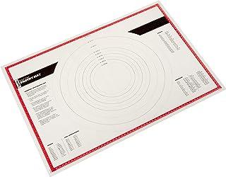 Tovolo 用于糕点和烘烤食品的硅胶垫,揉面,滚动和成型面团的不粘表面,红色,1 EA