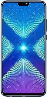 华为荣耀 8X(64GB + 4GB RAM)6.5 英寸高清 4G LTE GSM 工厂解锁智能手机 - 国际版无保修 JSN-L23(蓝色)