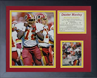 "Legends Never Die""Dexter Manley 带框照片拼贴,27.94 x 35.56 厘米"