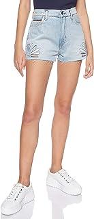 TOMMY 牛仔裤女式 TJW hotpant 牛仔短裤直筒牛仔裤