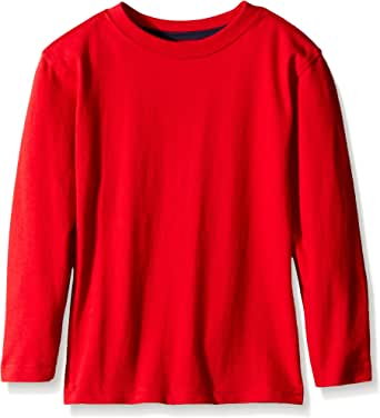 Scout + Ro Boys' Long-Sleeve Solid Crew-Neck T-Shirt