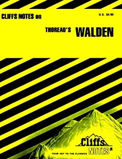 CliffsNotes on Thoreau's Walden (Cliffsnotes Literature Guides) (English Edition)