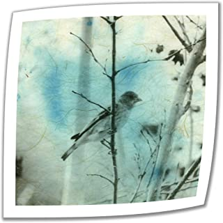Art Wall Asian Bird 24 by 24-Inch Unwrapped Canvas Art by Elena Ray with 2-Inch Accent Border