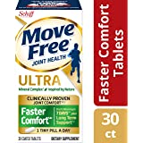 Move Free 果酸钙 Ultra Faster 舒适片剂(一瓶30片),30片(12包)