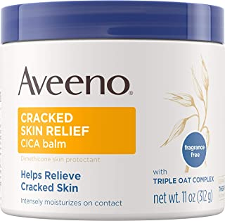 Aveeno 皲裂皮肤舒缓膏 11 盎司罐装 1包