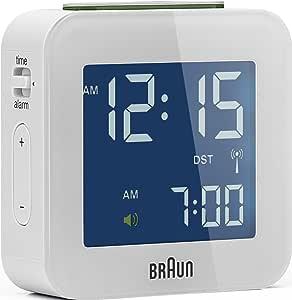 Braun 博朗 66016 无线电闹钟 多频段 BNC008WHWHRC