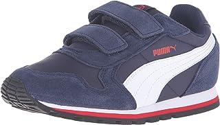 Puma 中性款儿童 St Runner NL 运动鞋,Rock Ridge 白色,13 US 儿童