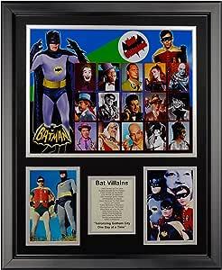 Legends Never Die Batman Villains 带框照片拼贴,40.64 厘米 x 50.8 厘米