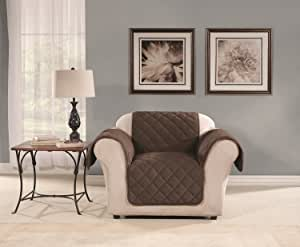 Sure Fit SF44972 Microfleece Pet Chair Furniture Cover