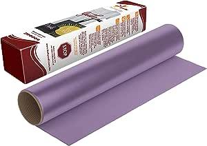 萤火虫工艺热转印乙烯基适合剪影和十字架,30.48 厘米 x 50.8 厘米 紫色(Lavender) 1 sheet 43237-2