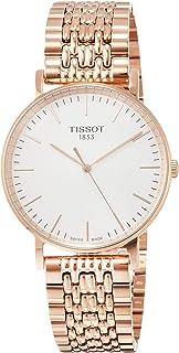 Tissot T-Classic Everytime 银表盘男式手表 T1094103303100