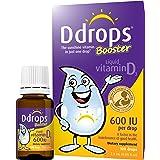 Ddrops 增强 600 IU Vitamin D3滴剂,100滴