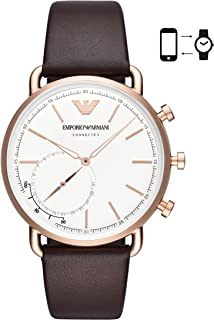 Emporio ArmaniHerren Hybrid Connected Smartwatch Leder