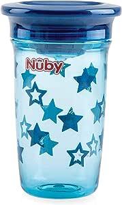Nuby 努比 360° Wonder Cup Tritan 300毫升 6m+ 蓝色