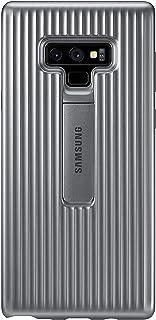 Samsung 三星 Galaxy Note9 手机壳, 坚固的军工级防护外壳,带支架,银色