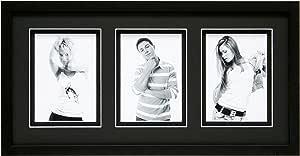 deknudt frames s43dk2-p3-13.050.8cm x 黑色相框适用于3照片