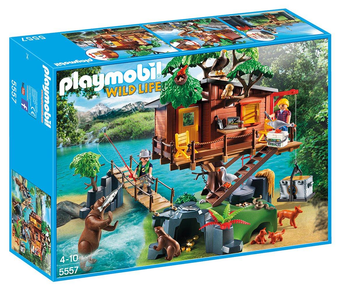 PLAYMOBIL 探险树屋