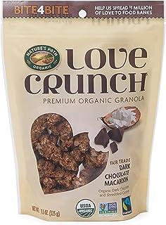 Nature's Path Organic (自然之路) - 优质爱咬嚼格兰诺拉麦片黑暗的巧克力蛋白杏仁饼干 - 11.5盎司