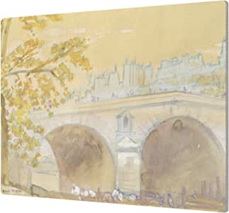 "ArtWall ""Arthur Bowen Davies's Pont Marie From Quai Des Celestins, 1926, Aluminum Print"", 14 x 18"""