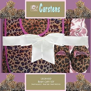 Carstens 豹纹盒装婴儿礼品套装