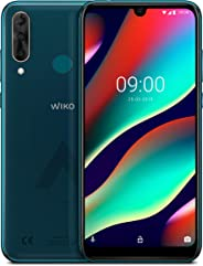 WIKO View3 Pro 128GB+6GB 智能手机WIKWP611DBNST Deep Bleen