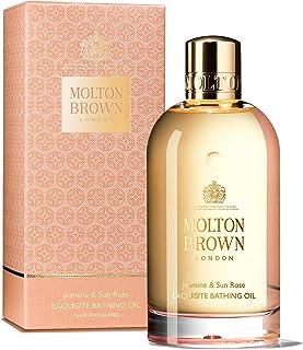 Molton Brown 茉莉和太阳玫瑰沐浴油,6.6液盎司 盎司
