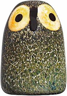 Toikka设计的Iittala玻璃鸟 装饰品 Junge Sperbereule 45x65 mm