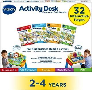 VTech 伟易达 活动桌 适用于2-4岁的四合一学前班 扩展包