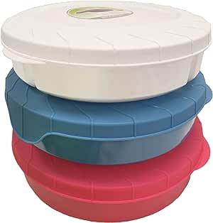 食品储存容器,厨房及冰箱整理! 非常适合收纳午餐或晚餐,上学或家! Green, White, Purple, Pink, Orange, Green