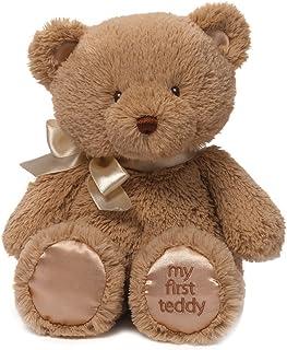 Gund My First Teddy Bear Baby 填充玩具动物,褐色 10 英寸