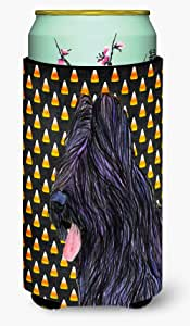 Briard Candy Corn Halloween Portrait Michelob Ultra Koozies for slim cans SS4283MUK 多色 Tall Boy