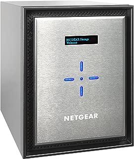 NETGEAR ReadyNAS 高性能 6 湾 2x10GbE 网络连接存储,(RN526X00-100NES)