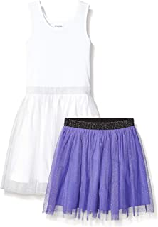 亚马逊品牌 - 斑点斑马女孩幼童和儿童短裙套装