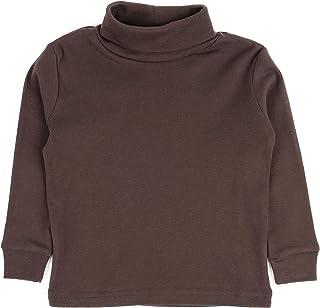 leveret 大女孩纯色高领100% 棉质 ( 7–14岁 ) 多种颜色
